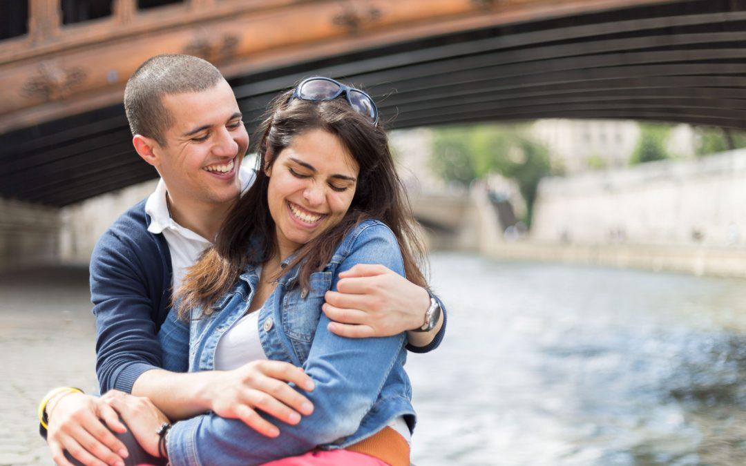 Une séance de couple à Paris
