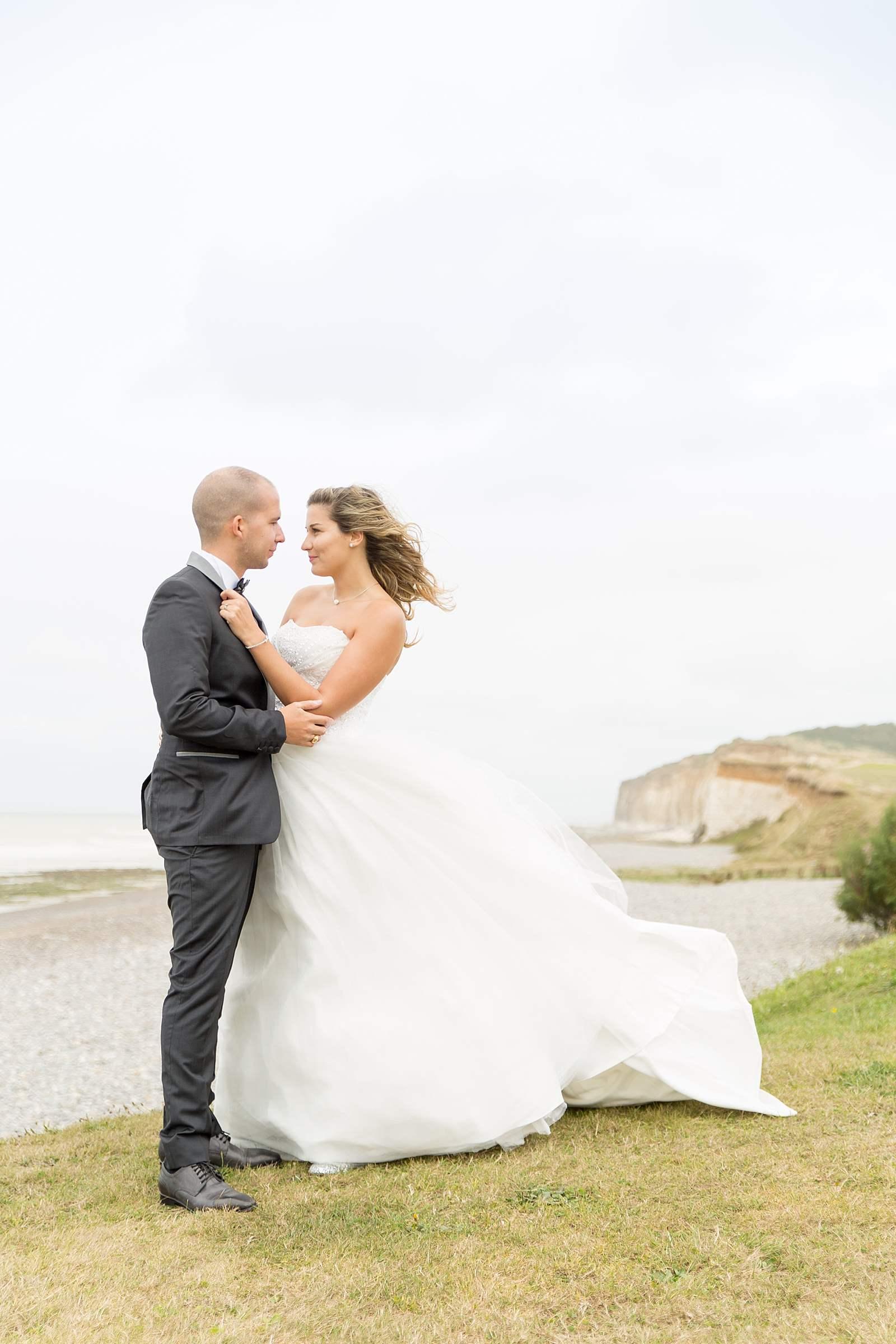 photographie de mariage varengeville sur mer.