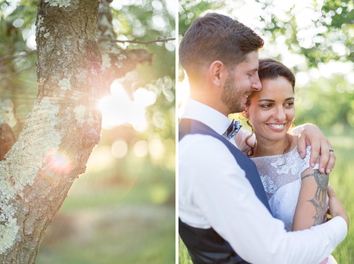 photographe de mariage Essonne, portrait des mariés