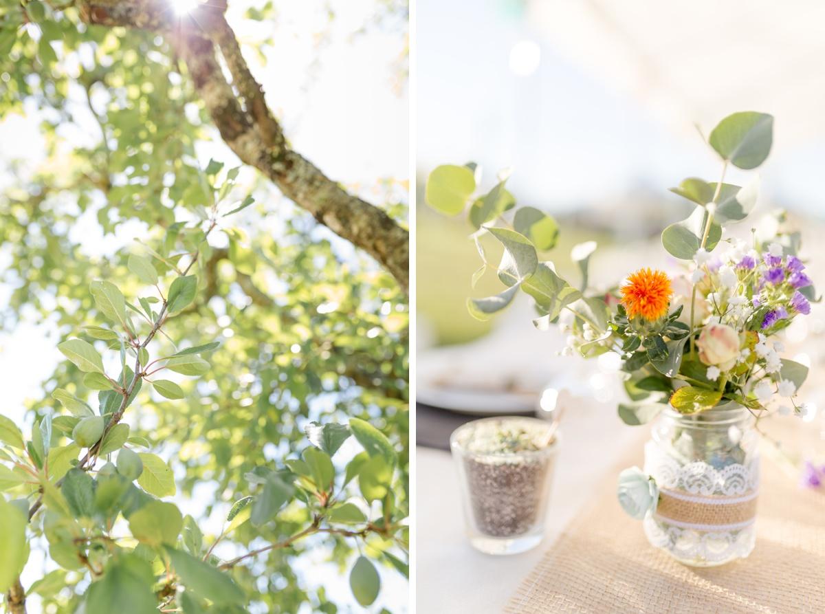 décoration florale et végétale de mariage, photographe mariage
