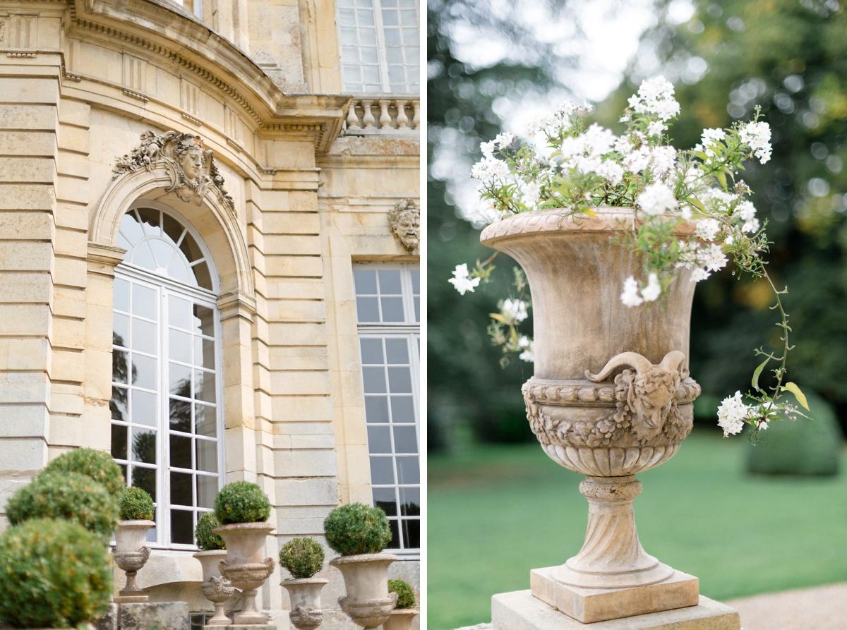mariage château de Champlâtreux, france