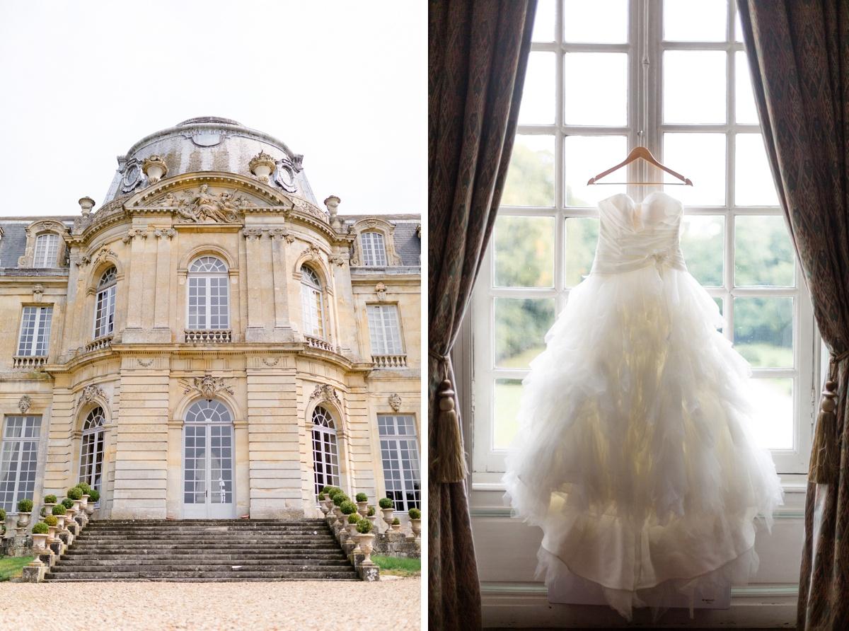 Robe mariage Château classique France