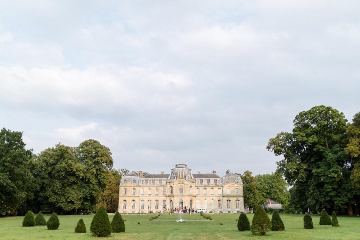 Château Champlâtreux mariage luxe en france