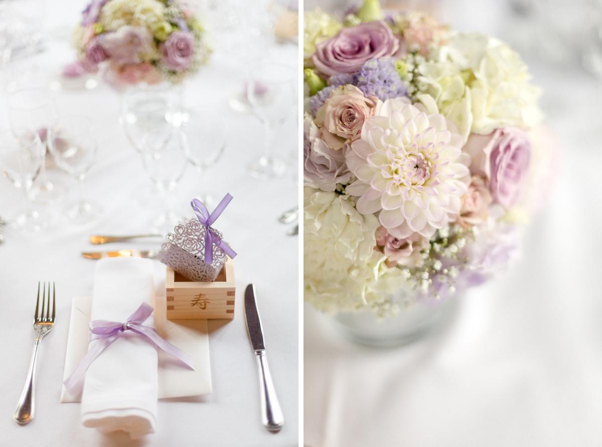 decoration de table, fleuriste essonne , mazu japonais mariage