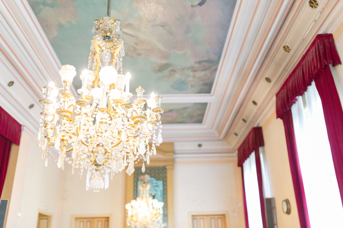 Fresque plafond mairie