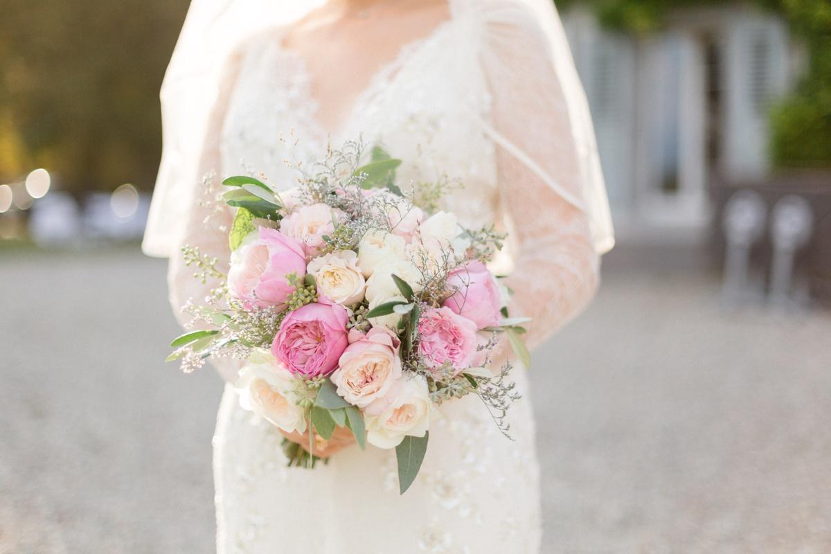 Bouquet de mariage par Wuillemin fleuriste