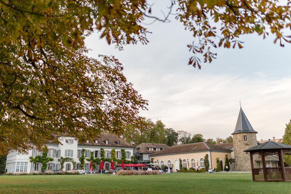 château de Bossey reception et mariage en Suisse